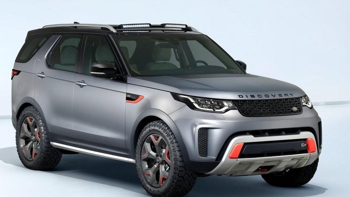 Land Rover Discovery SVX 2018 dévoilé au Salon de Francfort