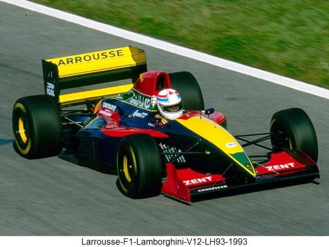 Larrousse F1 Lola Lamborghini V12 LH93 1993