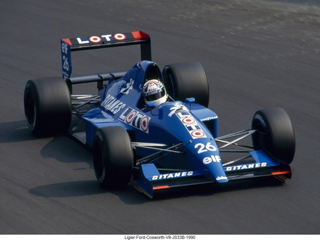 Ligier Ford Cosworth V8 JS33B 1990