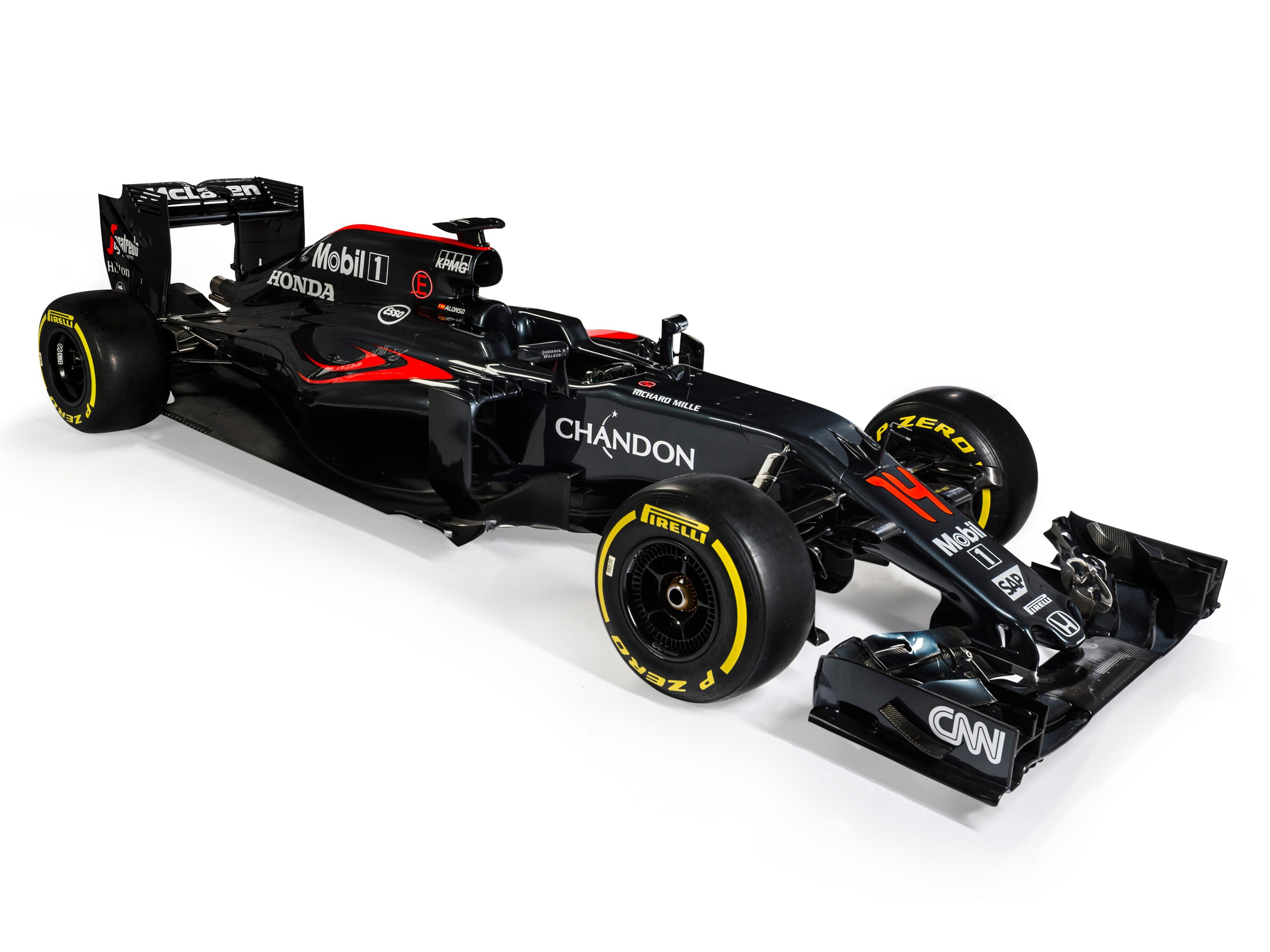 McLaren Honda V6 Turbo Hybrid MP4-31 2016