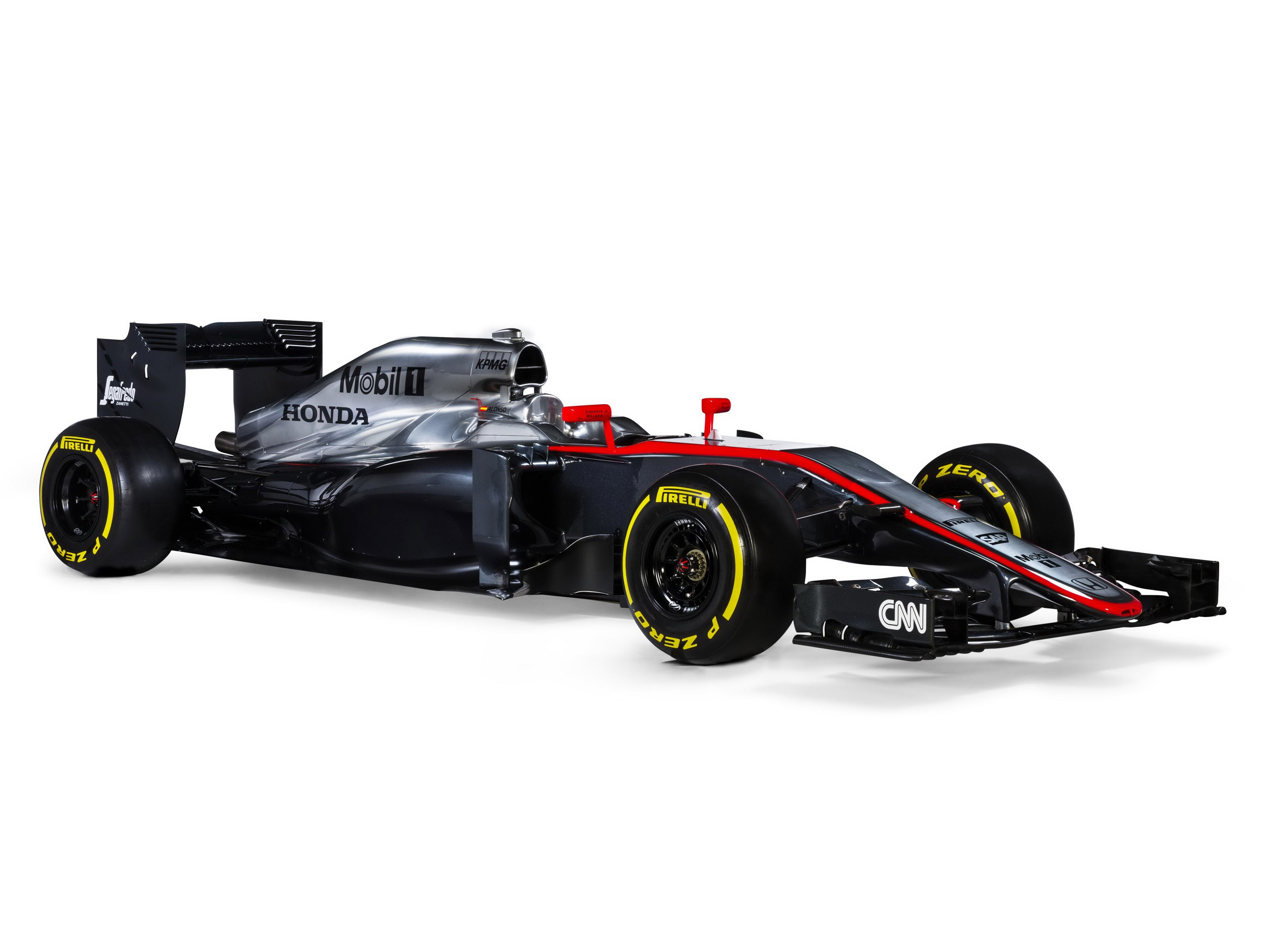 McLaren Honda V6 Turbo MP4-30 2015