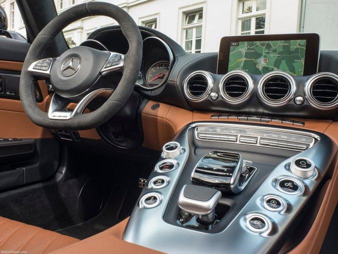 Mercedes AMG GT Roadster 2017
