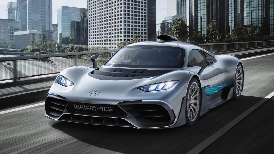 Mercedes AMG Project ONE Concept 2017 – La Formule 1 de route.