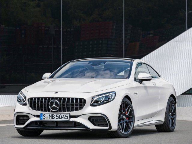 Mercedes S63 AMG Coupe 2018
