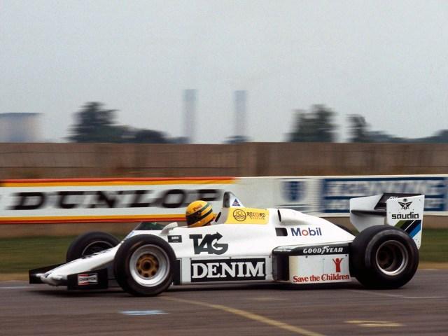 Williams Ford Cosworth V8 FW08C 1983 - Formule 1