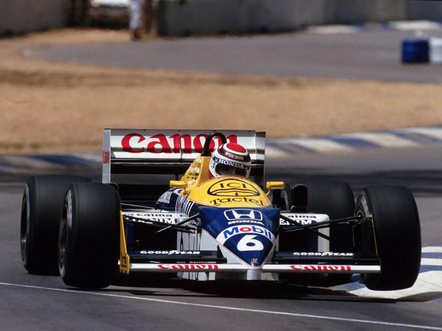 Williams Honda V6 Turbo FW11 1986 - Formule 1