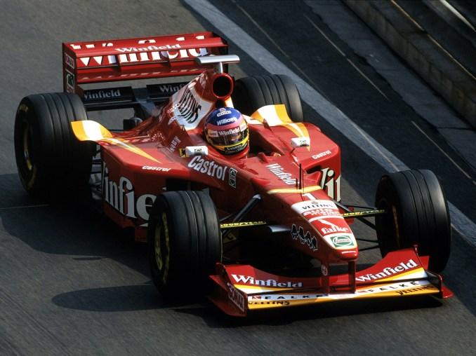 Williams Mecachrome V10 FW20 1998