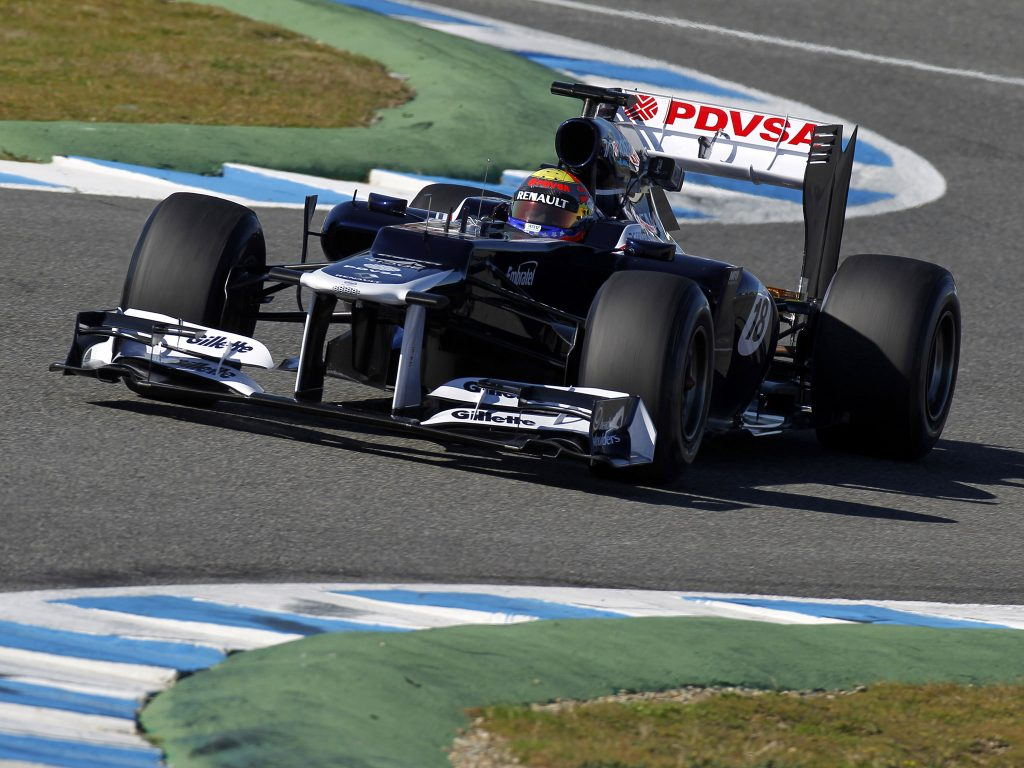 Williams Renault V8 FW34 2012