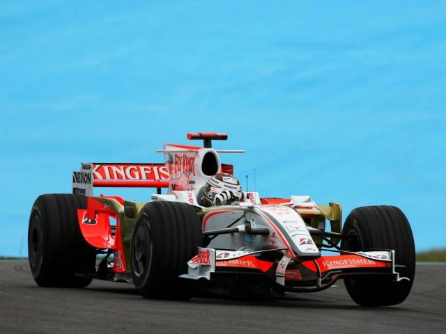 Force India Ferrari V8 VJM01 2008