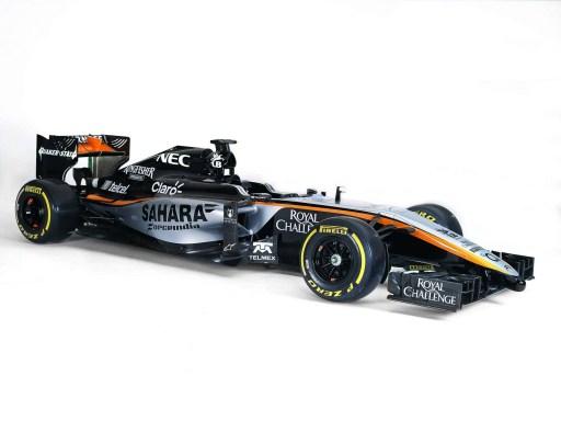 Force India Mercedes V6 Turbo Hybrid-vjm08b 2015