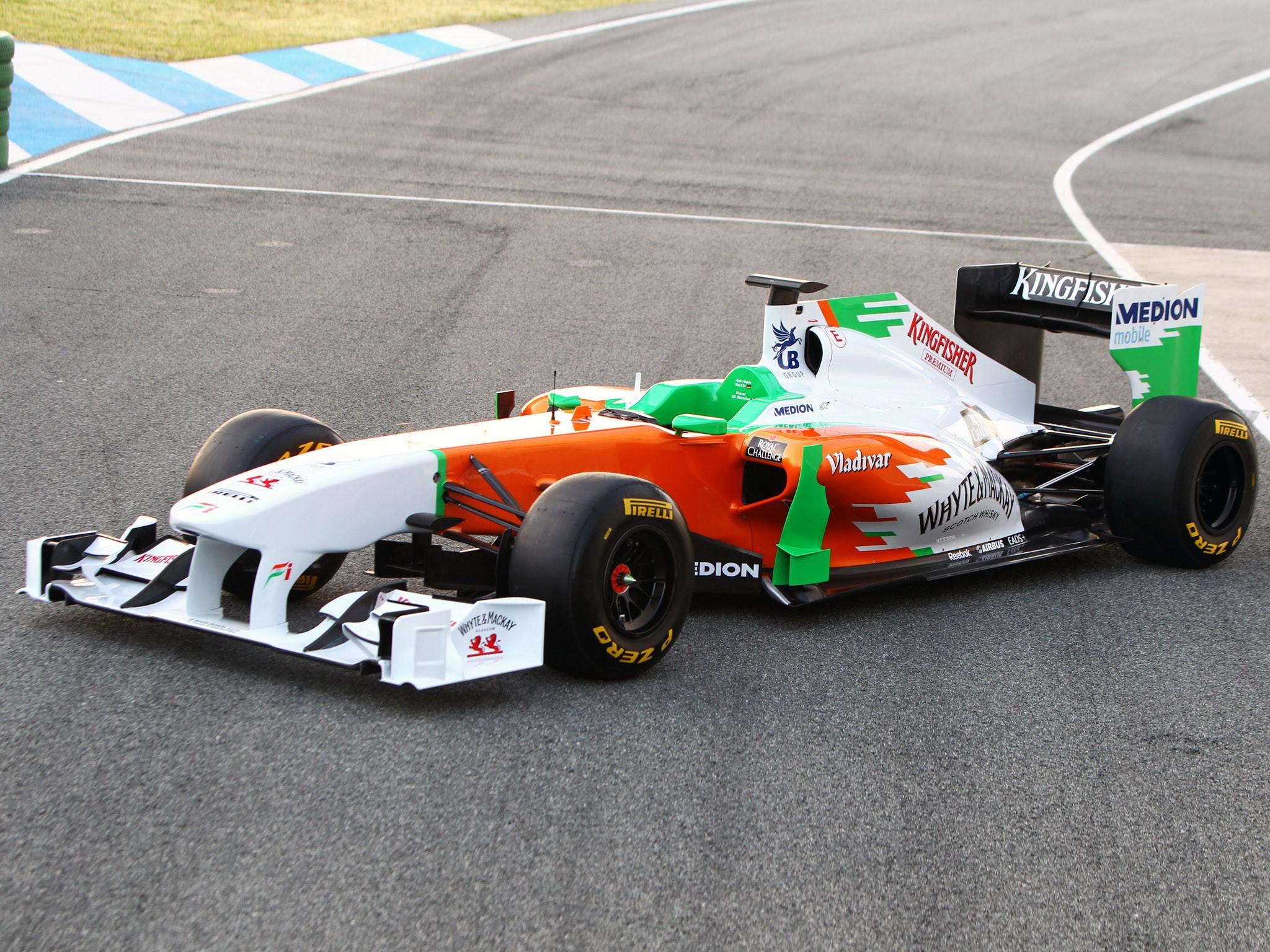 Force India Mercedes V8 vjm04 2011