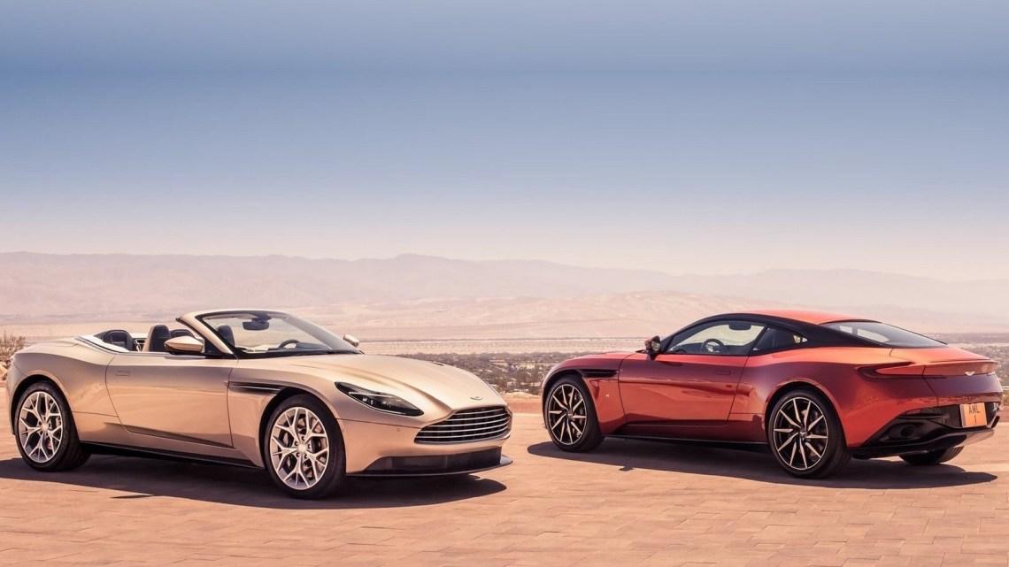 Aston Martin DB11 Volante 2019: Moteur V8 suralimenté