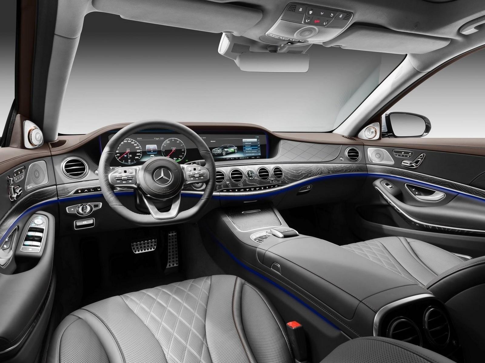 Mercedes S560e 2018