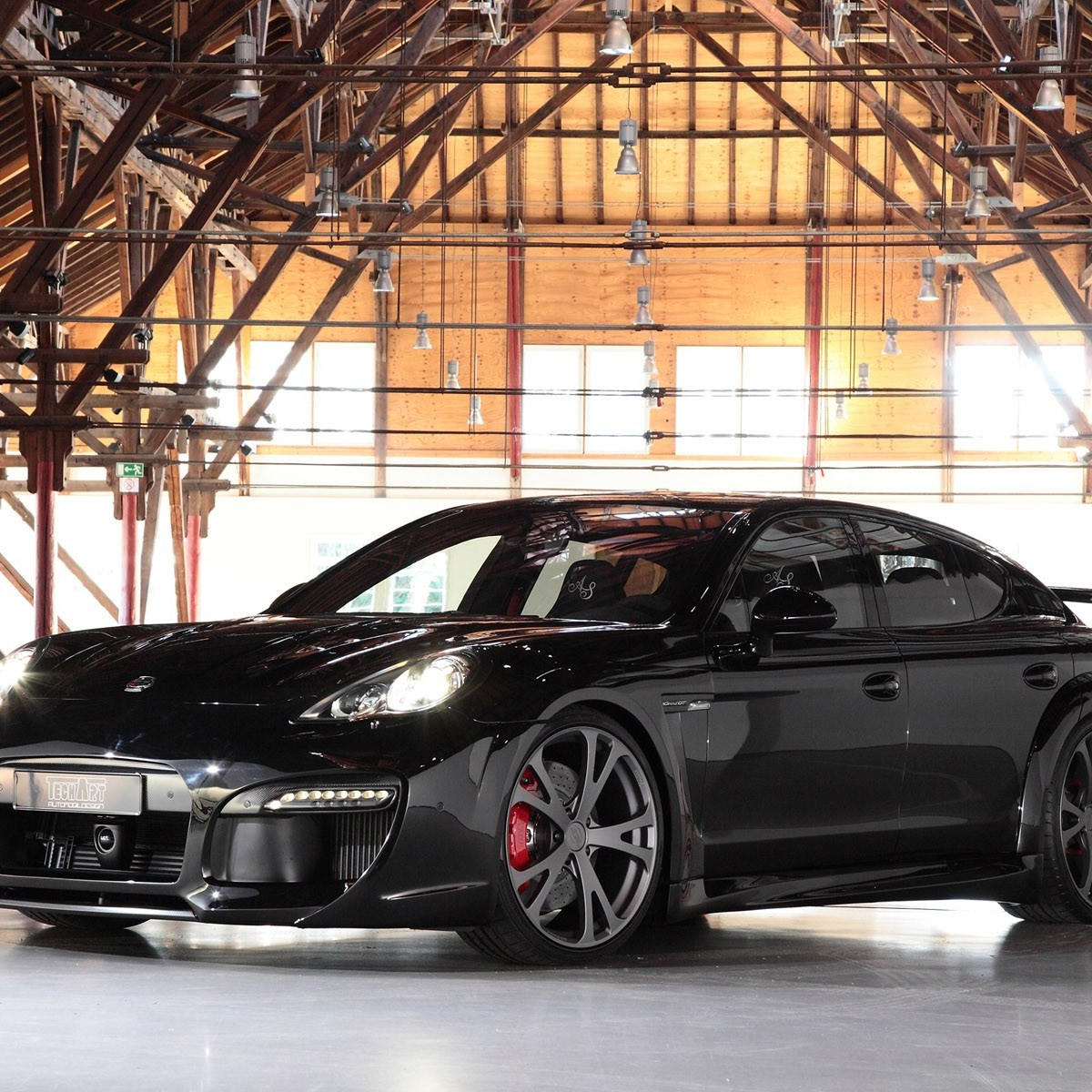 2011 Techart Porsche Panamera Turbo Grand GT