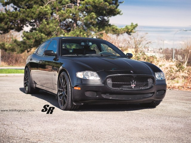 2013 SR Auto Maserati Quattroporte Project Black Diamond