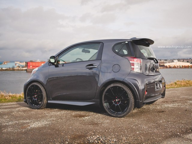 2013 SR Auto Scion IQ Sparco Assetto Gara Wheels