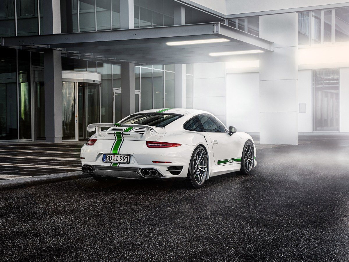2014 Techart Porsche 911 Turbo Power Kit