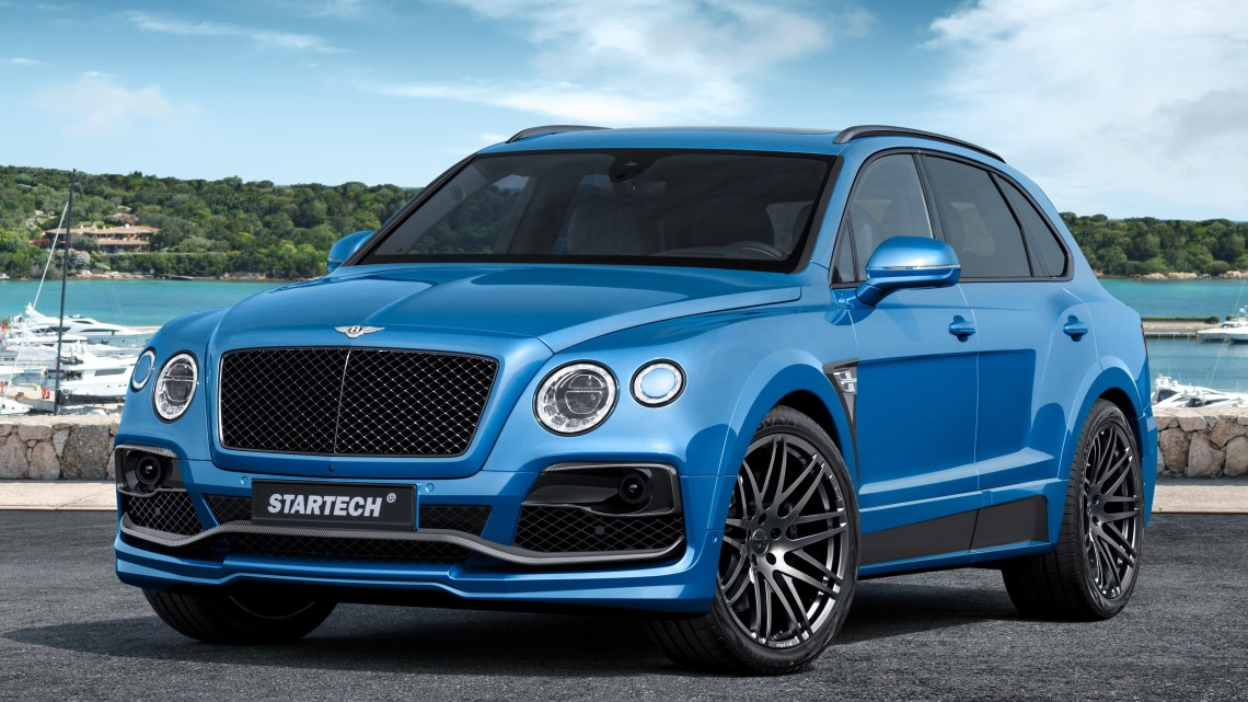 Startech Bentley Bentayga 2016 – Le SUV dispose d'un look plus sportif