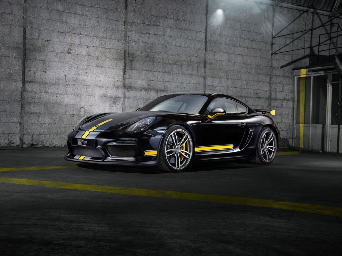 2016 Techart Porsche Cayman GT4 981c