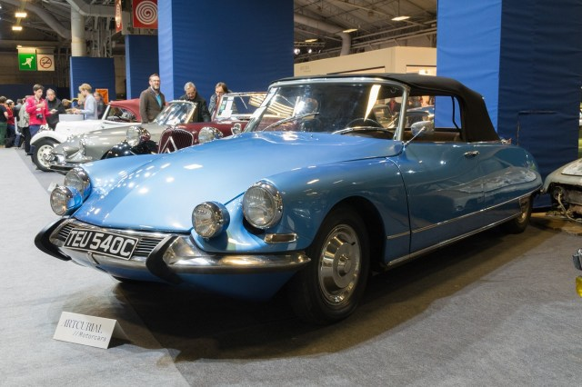 2017 Retromobile - Citroen DS 19 Cabriolet 1965