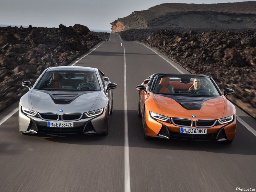 BMW i8 Coupe et Roadster 2019