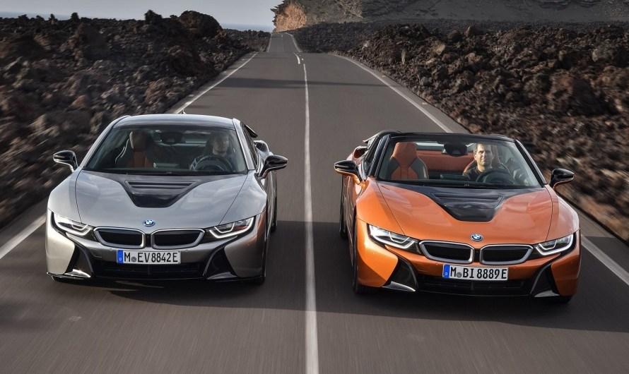 BMW i8 2019 Coupe et Roadster – MAJ des systèmes d'infodivertissement