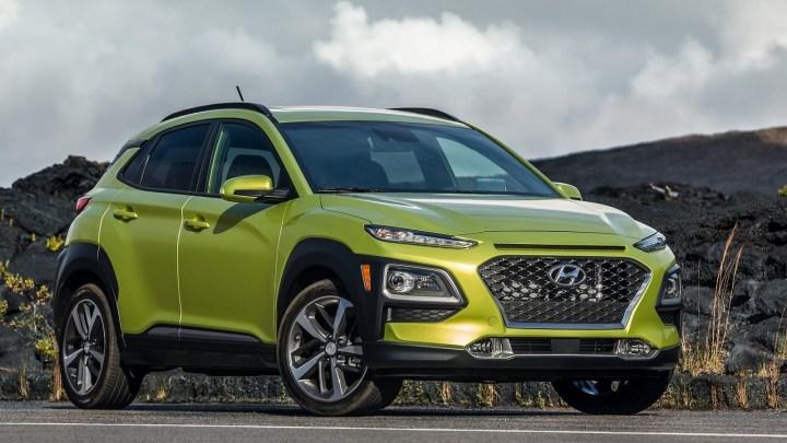 Hyundai Kona Version US 2018 – Crée sur une nouvelle plate-forme