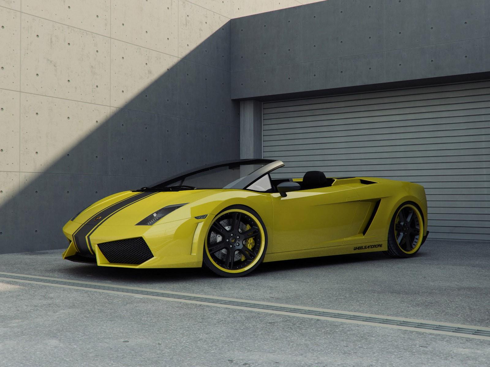 2009 Wheelsandmore Lamborghini Gallardo Spyder