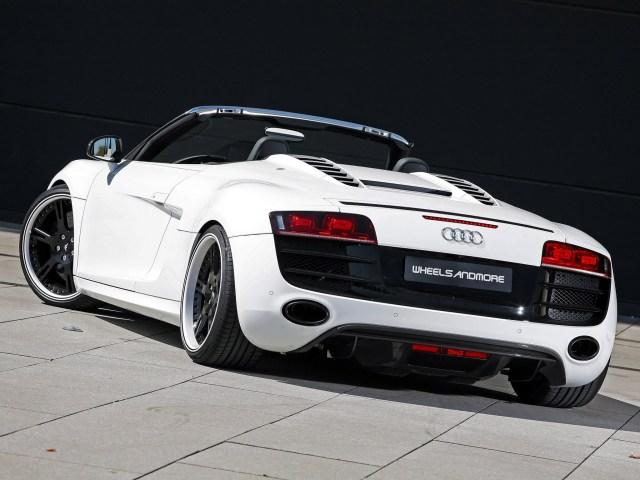 2011 Wheelsandmore Audi R8 V10 Spyder
