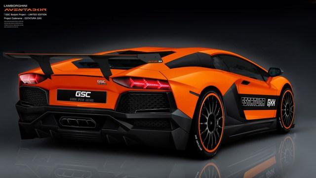 2012 GSC - Lamborghini Aventador Estatura GXX