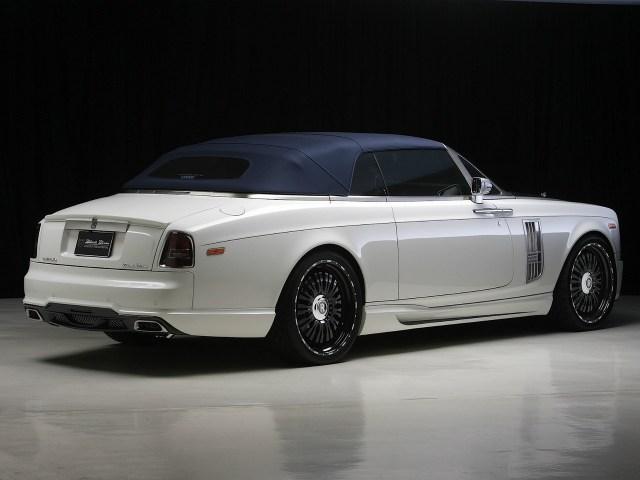 2012 Wald Rolls Royce Phantom Drophead Coupeb Black Bison Edition