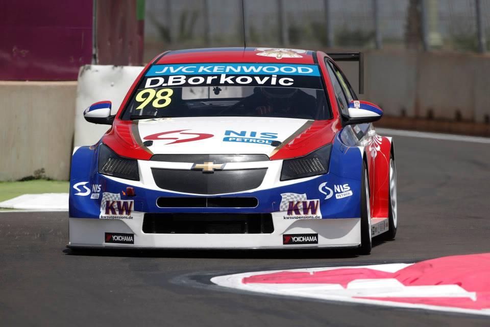 2014 Wtcc - Marrakech - Chevrolet - Borkovic