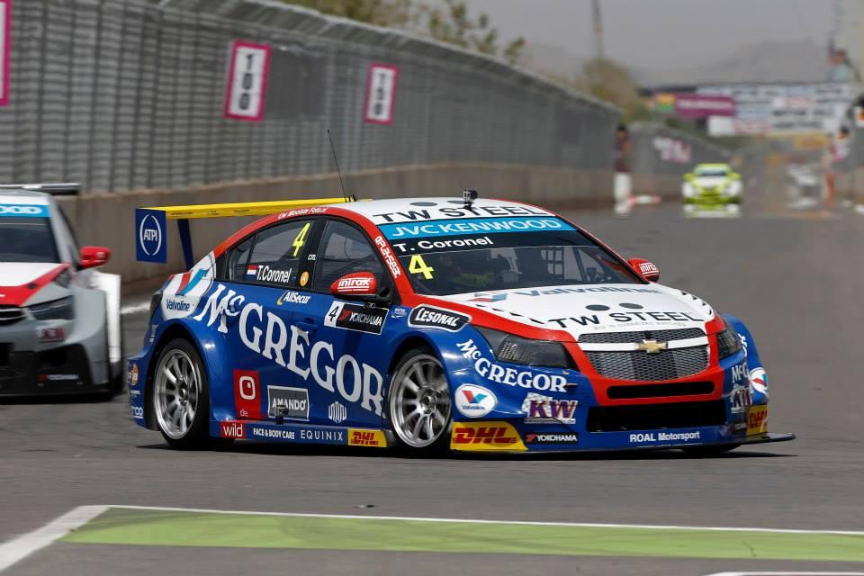2014 Wtcc - Marrakech - Chevrolet - Coronel