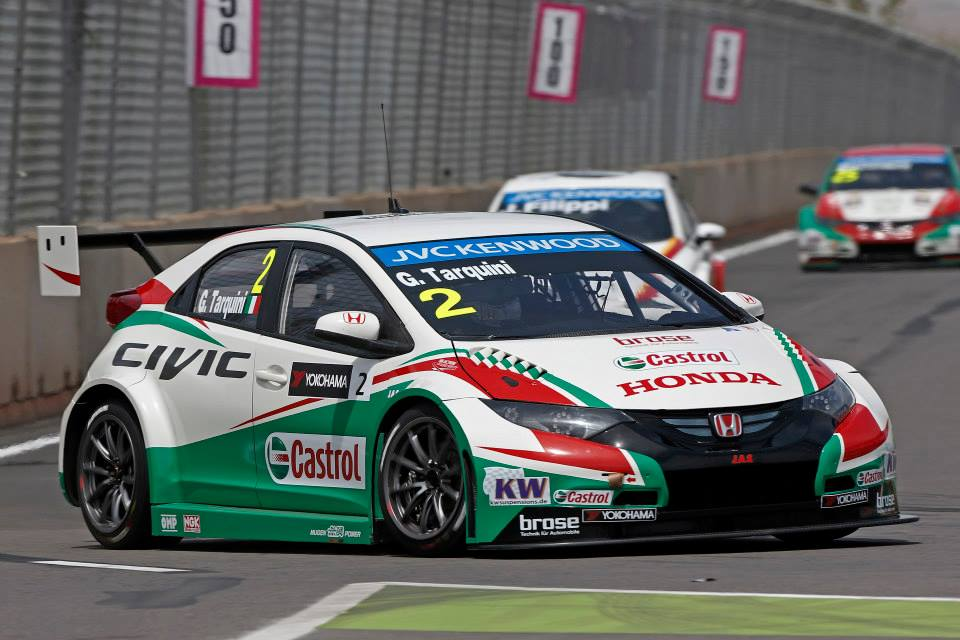2014 Wtcc - Marrakech - Honda - Tarquini