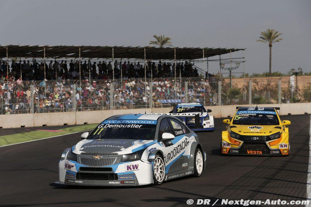 2015 Wtcc - Marrakech - Gregoire Demoustier - Chevrolet Cruze