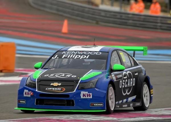 2016 Wtcc - Paul-Ricard - Chevrolet Cruze- CAMPOS - John FILIPPI