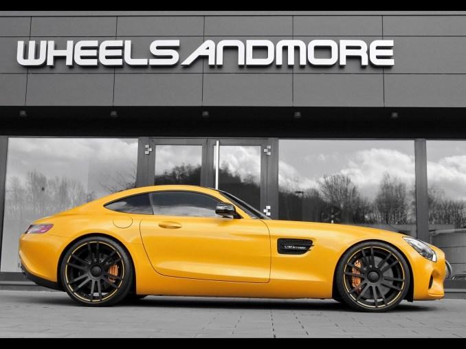 2016 Wheelsandmore AMG Mercedes GTS Startrack 6.3