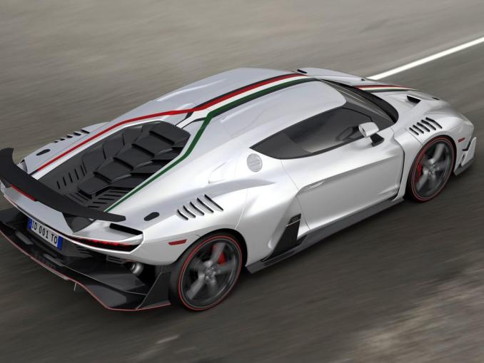 2017 Italdesign Zerouno