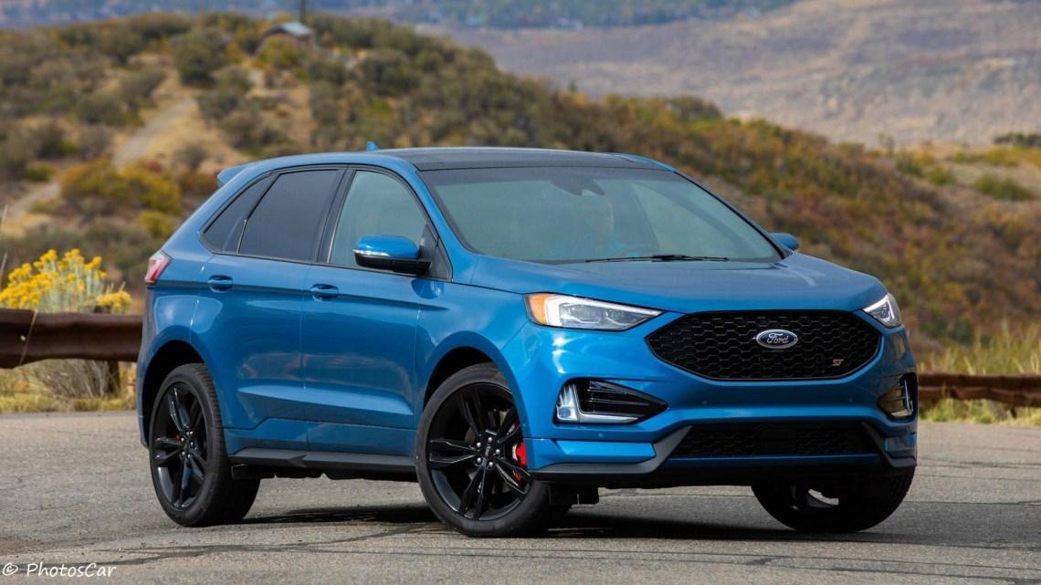 Le nouveau Ford Edge ST 2019 dévoilé à Detroit Auto Show