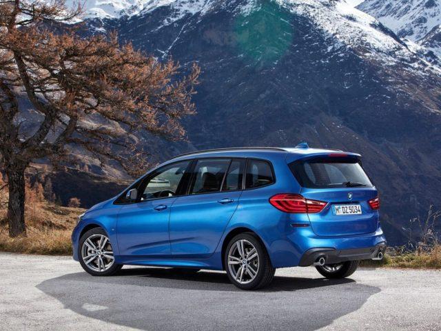 BMW Série 2 Gran Tourer 2019 vu de coté arrière