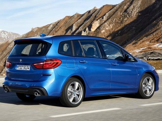 Vu arrière de coté BMW Série 2 Gran Tourer 2019