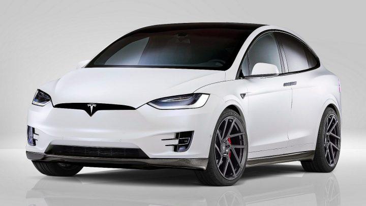 Novitec Tesla Model X 2017 – Plusieurs améliorations aérodynamiques