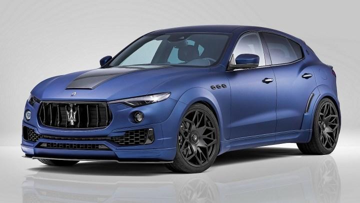 Novitec Tridente Maserati Levante Esteso 2017 – Un SUV haut de gamme