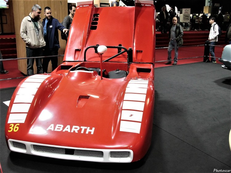 Abarth 2000 Sport Spider Prototype 1969 - 01