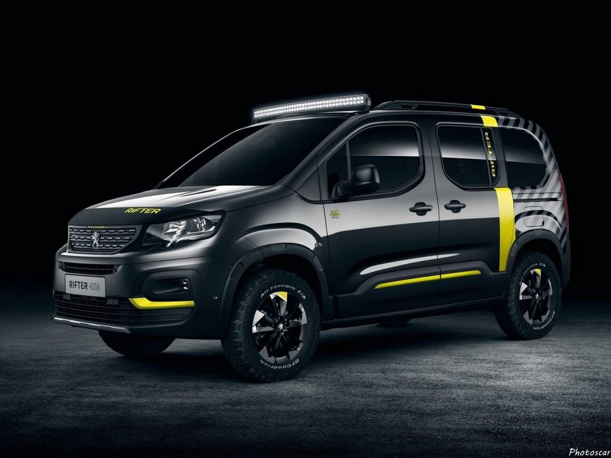 Peugeot Rifter 4x4 2018 est transformé en un concept tout-terrain