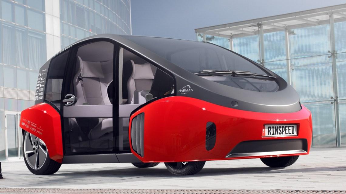 Rinspeed Oasis 2017 – Un concept-car électrique et autonome
