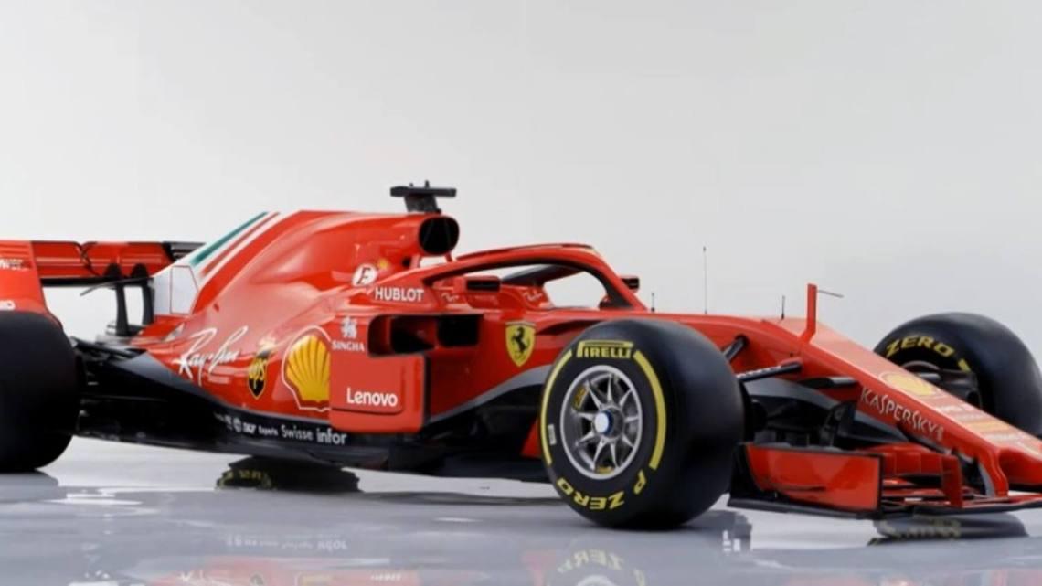 Ferrari dévoile la SF71H pour Sebastian Vettel et Kimi Räikkönen