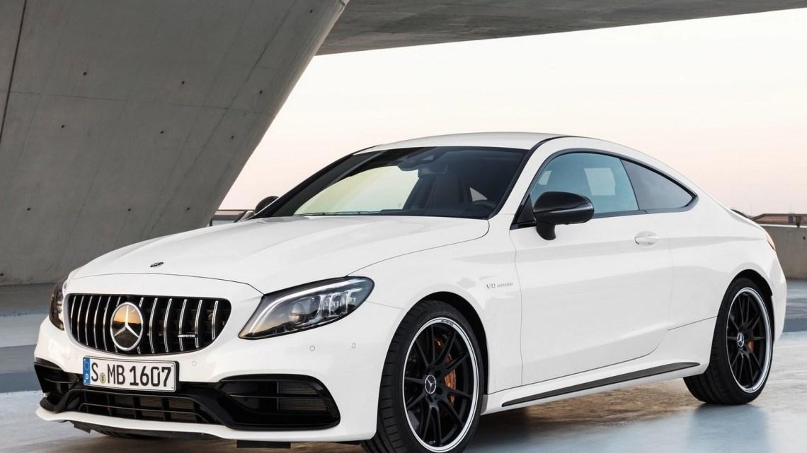Mercedes-AMG C63 S Coupe 2019: une version mise à jour