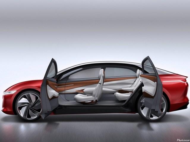 Volkswagen ID Vizzion Concept 2018