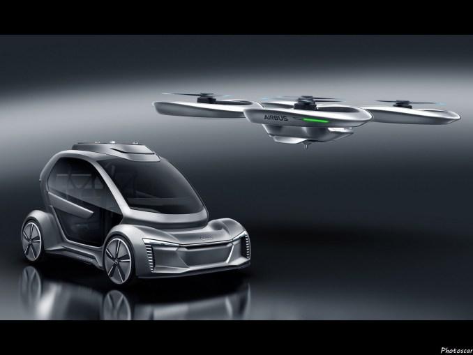 Audi Airbus Pop-Up Next Italdesign 2018